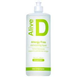 Alive D Гипоаллергенная жидкость для мытья посуды