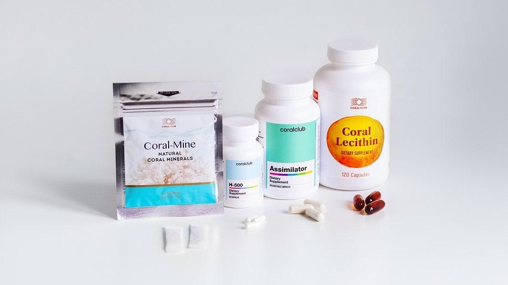 популярные продукты Корал Клаб